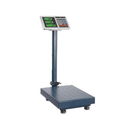 digital luggage platform floor type weighing scale 500kg image 1