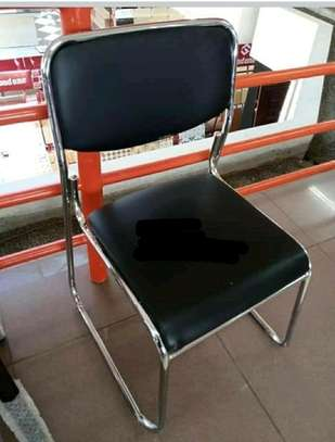 Armless reception chair image 1