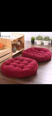 round floor pillow image 1