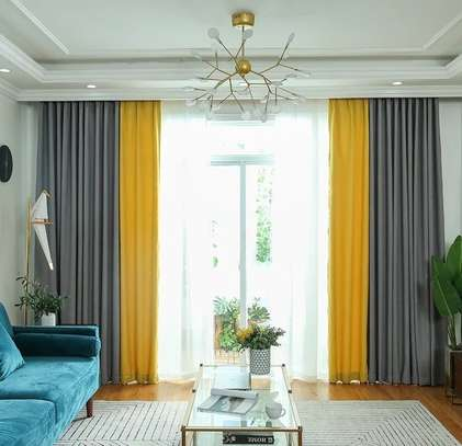 QUALITY CURTAINS WITH MATCHING SHEERS image 5