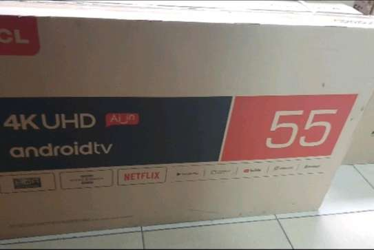 55 inch TCl smart Android UHD 4K televisions