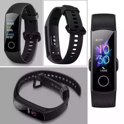 Huawei Honor Band 5 Smart Watch 50M Waterproof-Black image 2