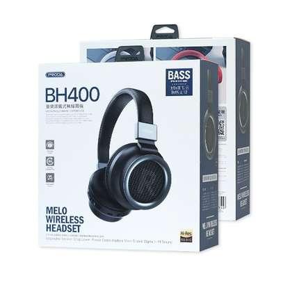 PRODA BH400 Wireless Bluetooth Headphone Black image 2
