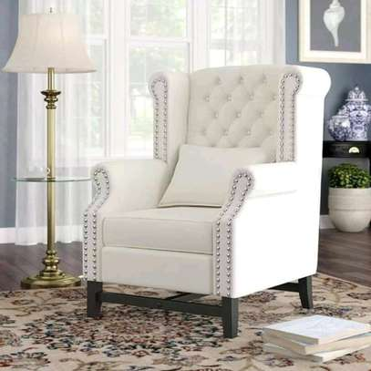 Stylish Contemporary Quality Wingback Chairs image 1