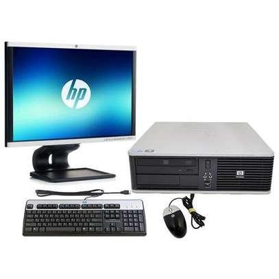 "Hp Computer core 2 duo 2.8ghz/160gb/2gb/17"" screen image 4"