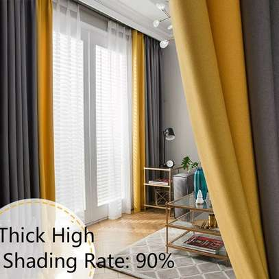 QUALITY CURTAINS WITH MATCHING SHEERS image 6