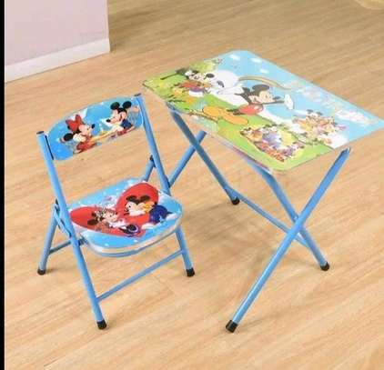 Kids foldable chair+foldable seat set image 7
