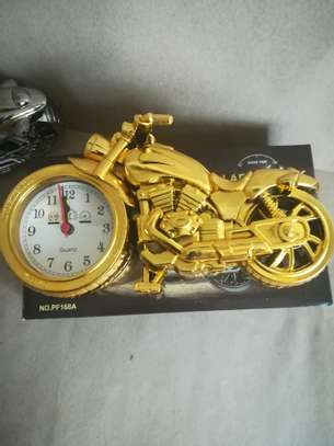 Creative Motorcycle shaped Alarm clock image 2