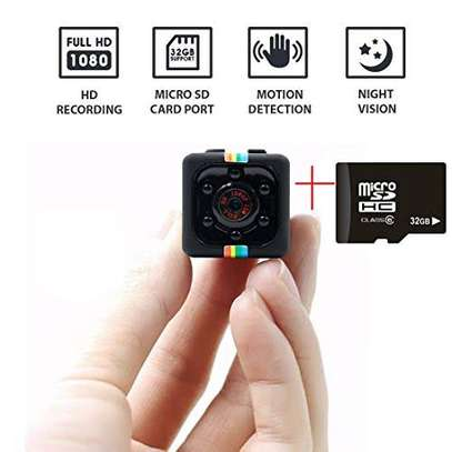 SQ11 Mini Camcorder 1080P mini  spy Camera plus free memory card