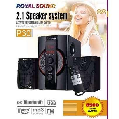 Royal Sound Subwoofer, Hitechmedia Bluetooth, USB, FM-8500watts image 1