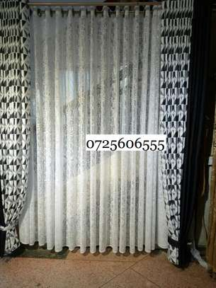 2 SIDED HEAVY FABRIC CURTAINS image 3