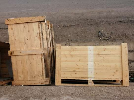 WOODEN BOX CRATE image 4