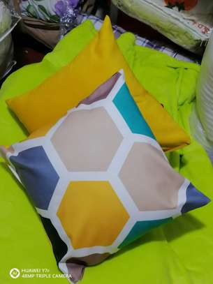 Blended throw pillows image 1