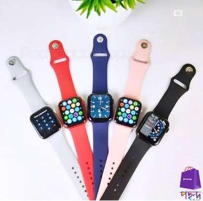 2021 Series 6 Newest T55+  Smartwatch Intelligent Reloj Waterproof Bluetooth Music Control Health Fitness Bracelet image 2