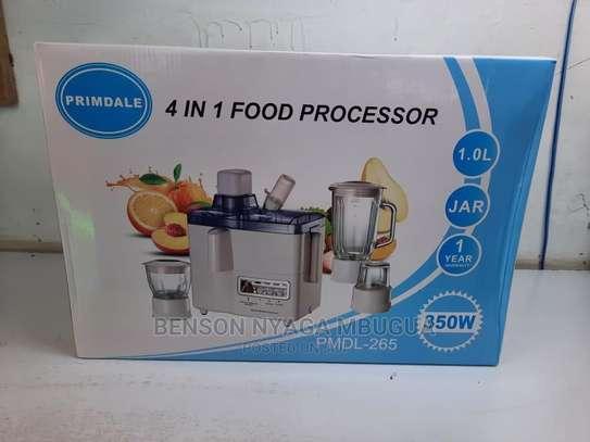4 in 1 Food Processor image 1
