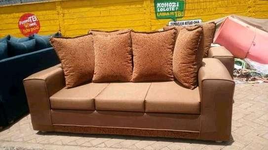 Ready Made Beautiful Modern Quality 3 Seater Sofa image 2