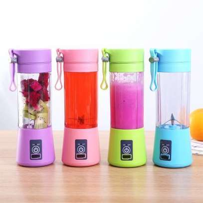 Rechargeable Portable Juicer Fruit Vegetable Juice Mixer image 1