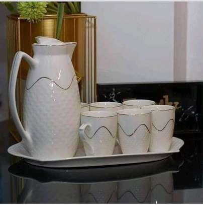 Ceramic tea set image 1