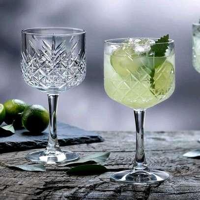 Crystal Wine/Dessert Glasses image 1