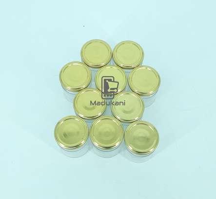 10pcs 212ml Glass Jars Mason Jars with Pop Lids image 2
