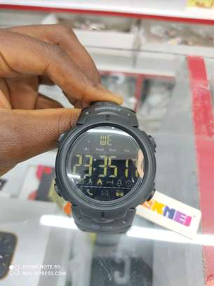 SKMEI 1301 tactical Bluetooth water proof smart watch image 1