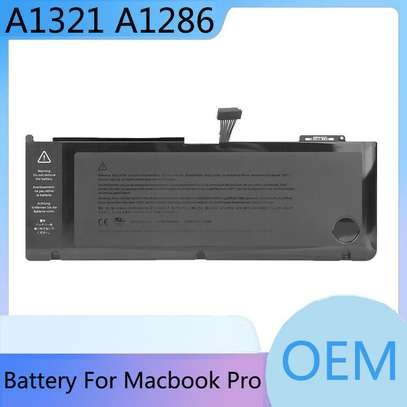 "A1321 Battery Apple Macbook Pro 15"" A1286 MC118LL/A Mid 2009 2010 image 1"