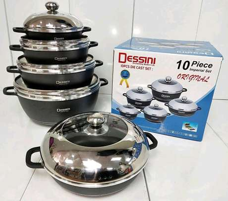 Dessini non stick cooking pots image 1