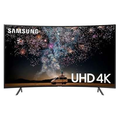 Samsung 55 Inch Curved Smart 4K UHD TV -55RU7300 - Series 7 - Black