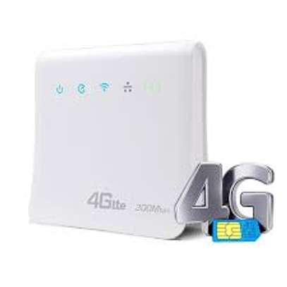 4G LTE CPE SIM CARD/WLAN ROUTER 300MBPS
