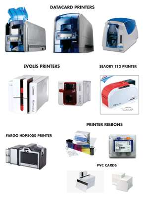 Plastic Cards printers and ribbons image 1