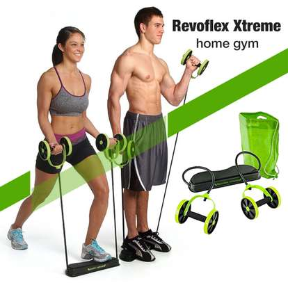 REVOFLEX XTREME HOME GYM ABS ROLLER image 1
