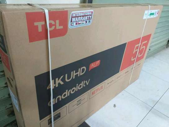 TCL 55 SMART ANDRIOD  UHD 4K image 1