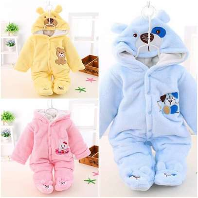 Heavy and warm baby Romper