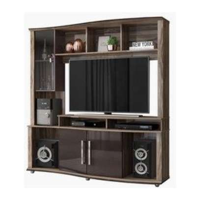 Libia Entertainment Unit TV Stand & Wall Unit image 2
