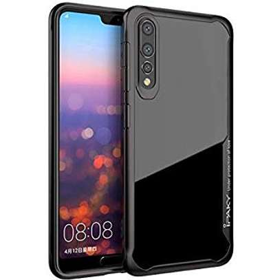 IPAKY Hybrid Shockproof Transparent Case for Samsung A70 A60 A50 A40 A30 A20 A10 A20s A30s image 1
