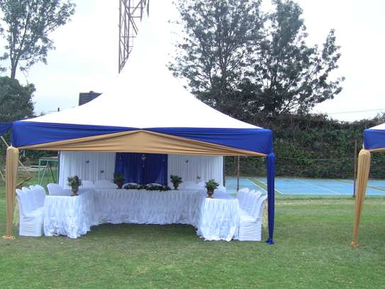 Tents, chairs, and tables for hire image 1