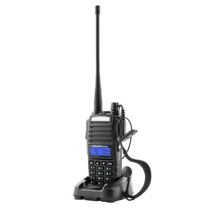 baofeng uv-82 5w walkie talkie dual band vhf/uhf two way radio double ptt portable radio amateur radio baofeng uv82+headset. 10KM image 1