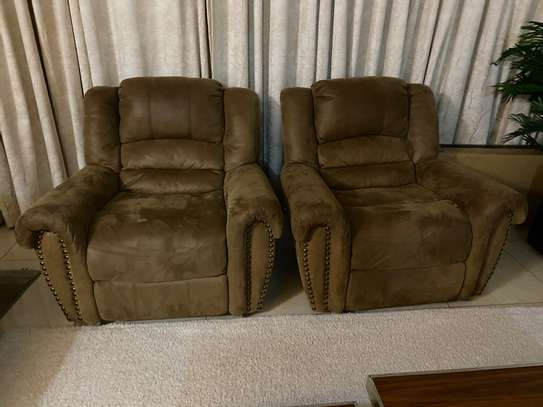 7 seater recliner couch/ sofa image 2