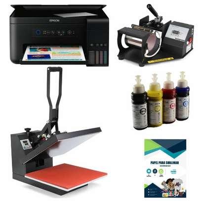 hot Press with Printer image 1