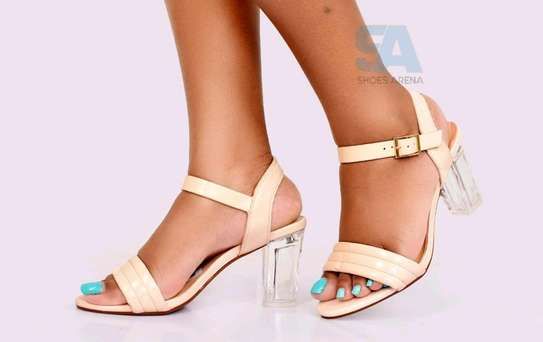 Catchy Chunky heels image 5
