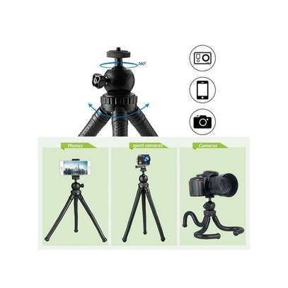 Flexible Portable Travel Octopus Tripods for camera and smartphone image 6