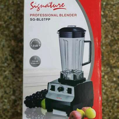 Commercial/Proffesional Signature Blender