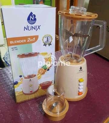 Nunix AK 300 2 In 1 Blender With Grindin image 1