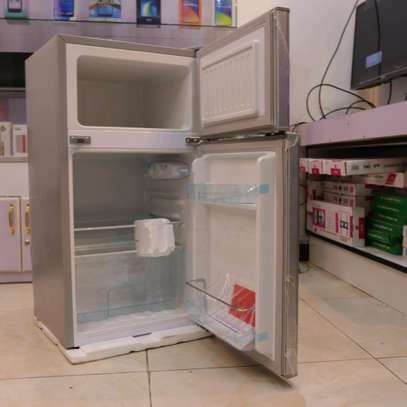 90 LITRES DOUBLE DOOR DIRECT COOL FRIDGE, SILVER- RF/222 image 1