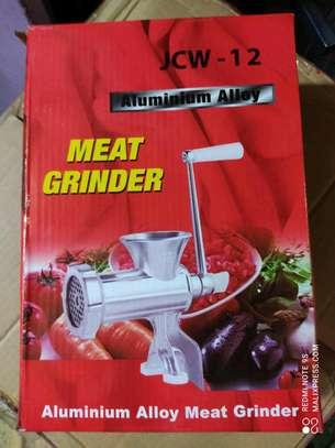 Manual Meat Grinder size 12 image 1