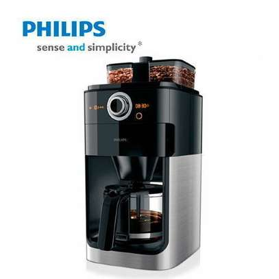 Phillps Compect Design Grind & Brew Coffee Maker Hd7762_AC