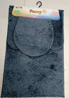 Toilet mat set image 3