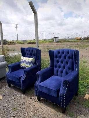 Stylish Beautiful Modern Quality Wingback Chairs image 1
