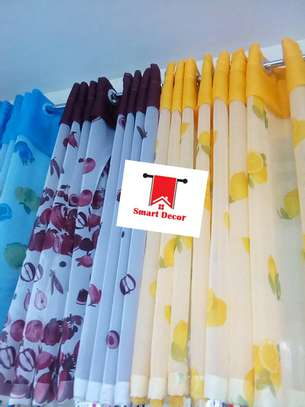Elegant kitchen curtains image 1