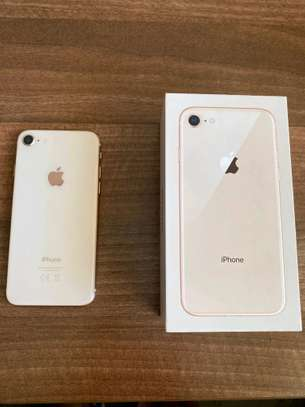 Apple Iphone 8 Gold 256 Gigabytes And Olliclips Professionally Photography Lens image 1
